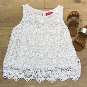 Lily Pulitzer Lace Tank